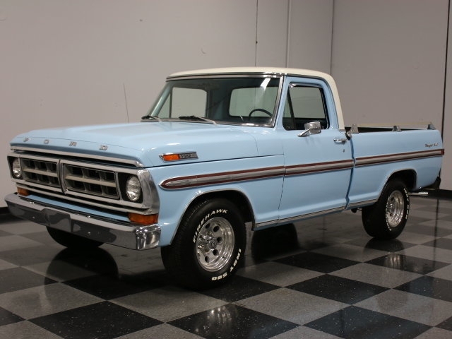For Sale: 1972 Ford F-100