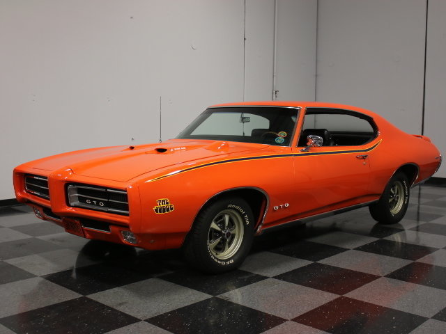 For Sale: 1969 Pontiac GTO