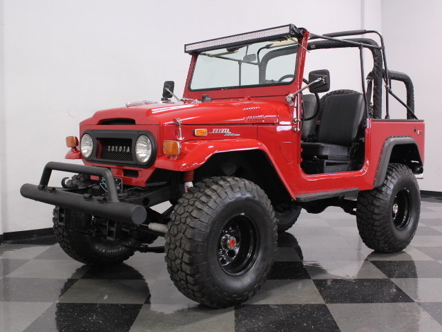 For Sale: 1970 Toyota FJ40