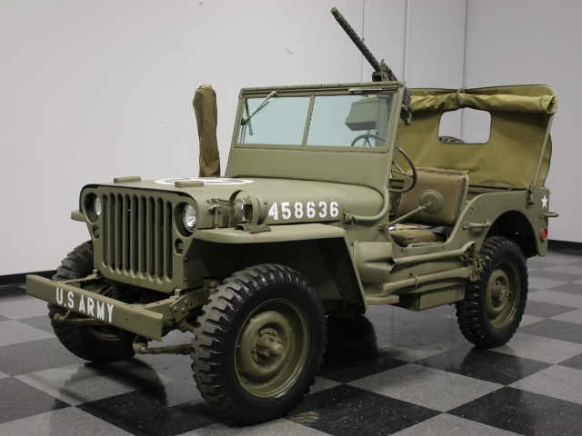 1944 willys military jeep streetside classics the nation 39 s trusted classic car consignment. Black Bedroom Furniture Sets. Home Design Ideas