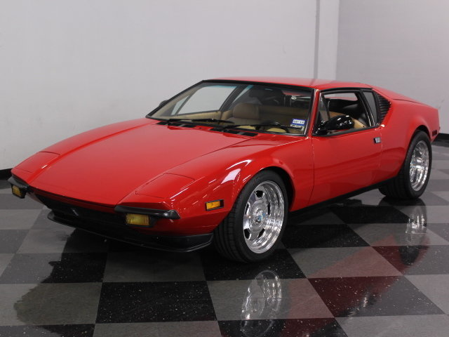 For Sale: 1972 De Tomaso Pantera
