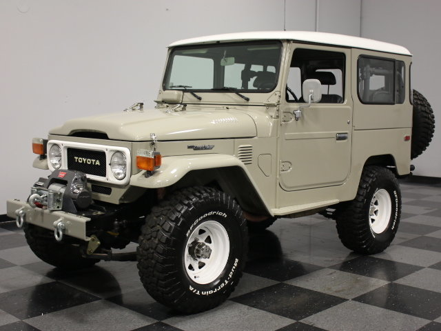 For Sale: 1981 Toyota FJ40