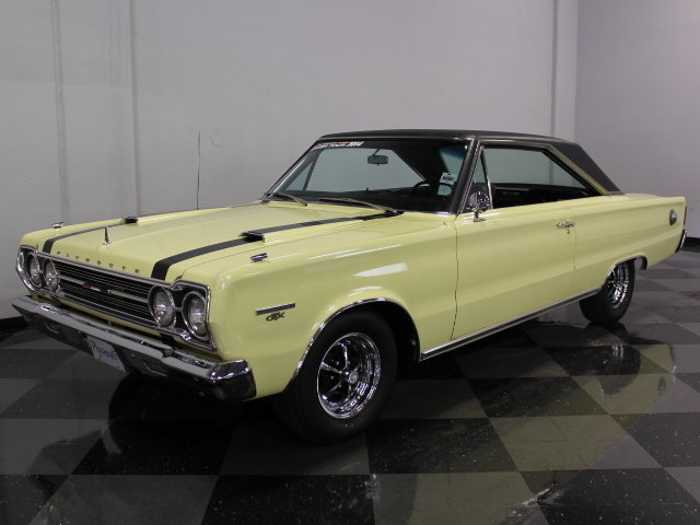 For Sale: 1967 Plymouth GTX