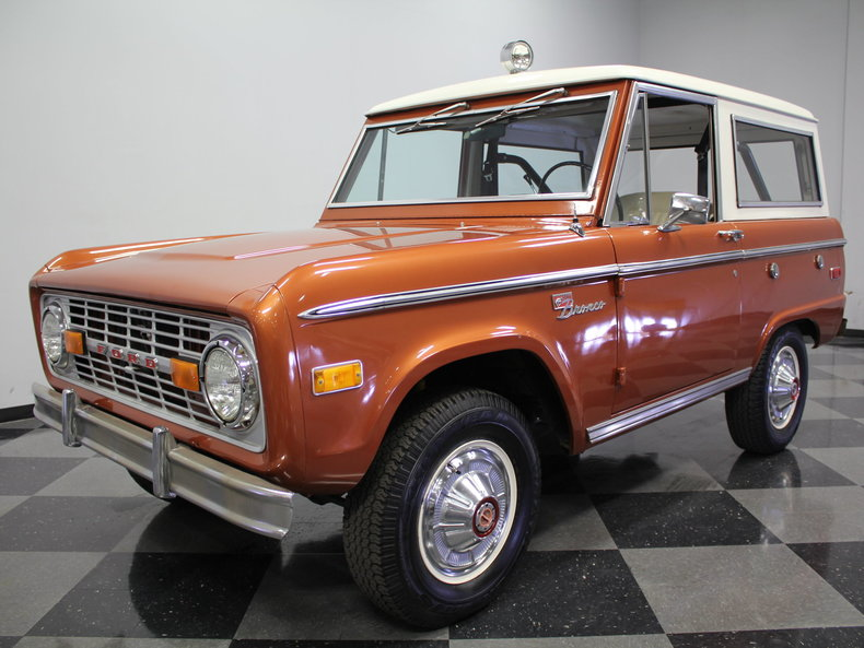 For Sale: 1973 Ford Bronco