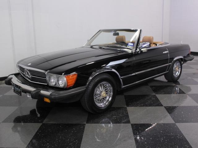 1983 mercedes benz 380sl streetside classics the for Fort worth mercedes benz dealership
