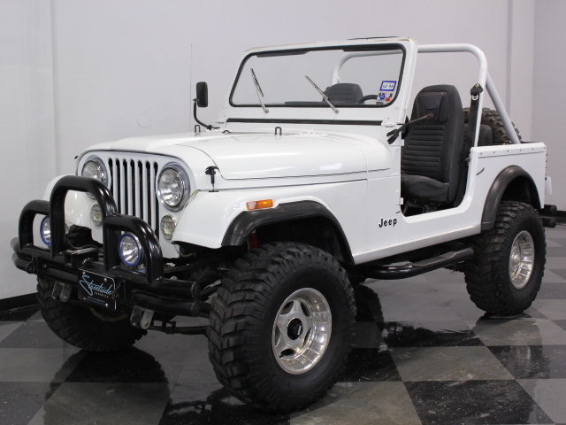1985 Jeep CJ 7 on 1986 toyota pickup motor