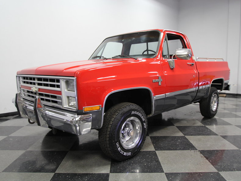 For Sale: 1987 Chevrolet Silverado