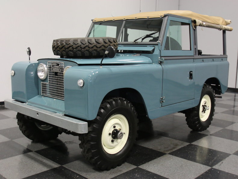 For Sale: 1962 Land Rover Series IIA