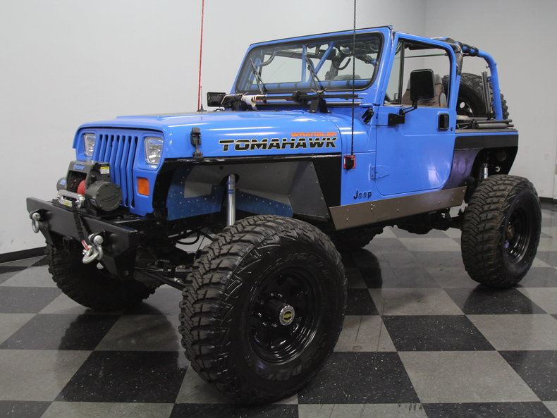 For Sale: 1989 Jeep Wrangler