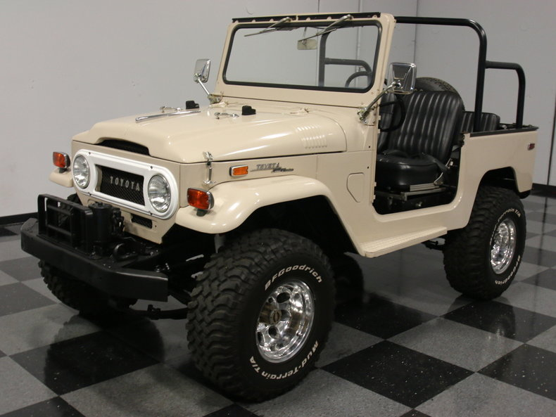 For Sale: 1970 Toyota FJ40 Land Cruiser
