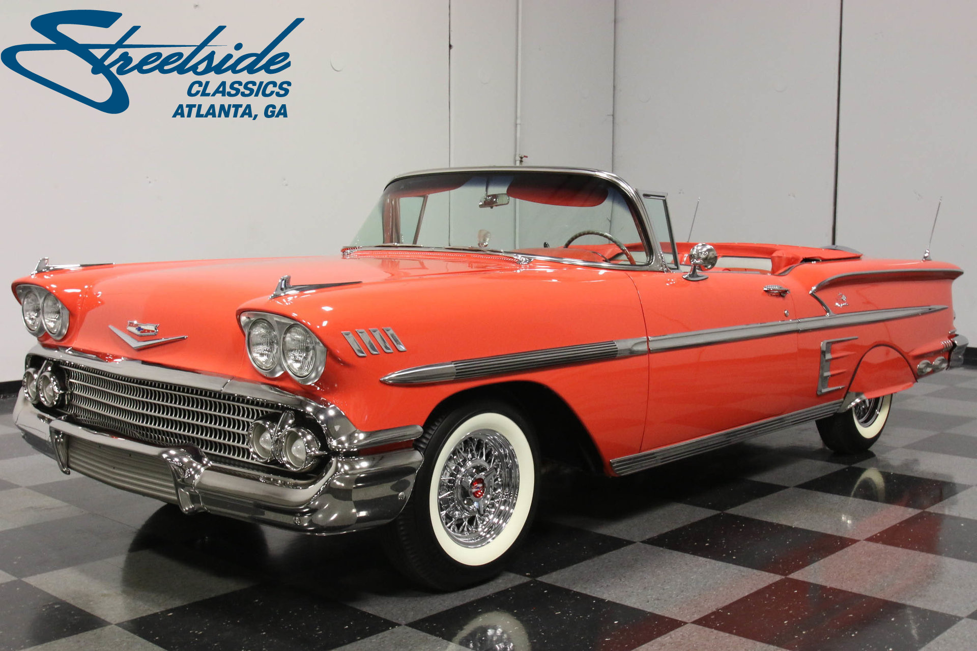 1958 Chevrolet Impala Streetside Classics The Nations Trusted 1966 Chevy Frame Play Video