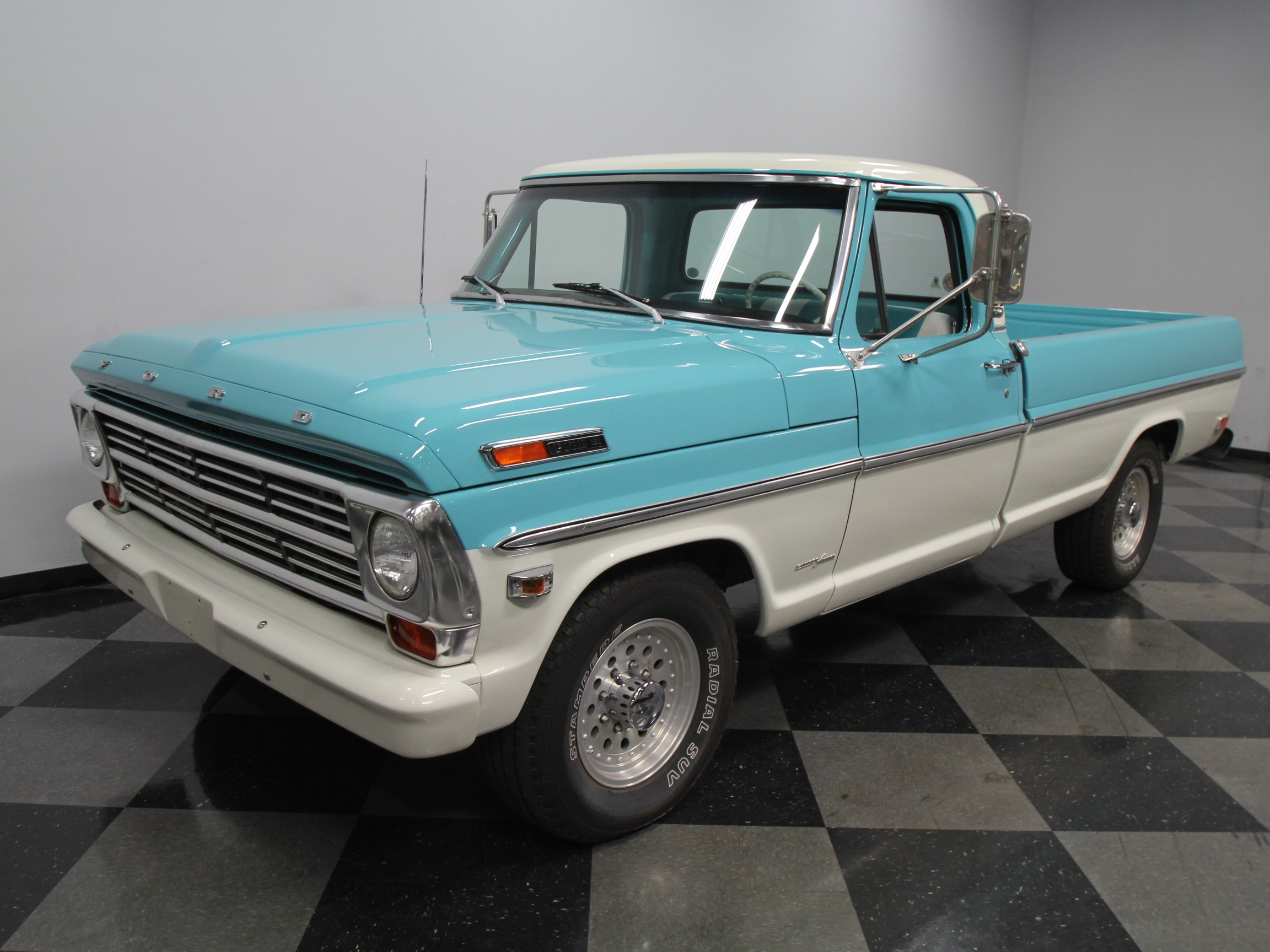 1956 Ford F 250 Camper Special