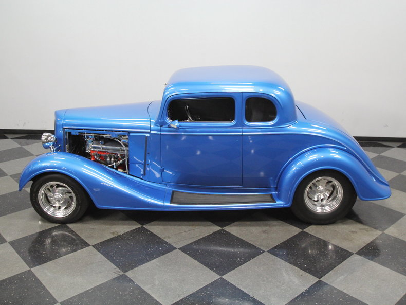 1934 chevrolet 5 window coupe streetside classics for 1934 chevy 5 window coupe