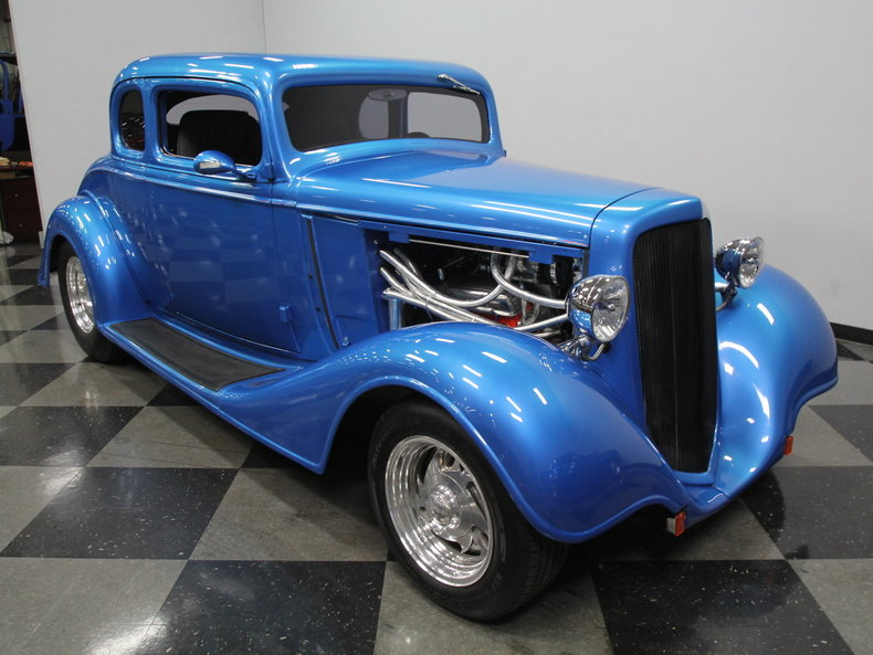 1934 chevrolet 5 window coupe streetside classics classic exotic car consignment dealer for 1934 chevrolet 5 window coupe