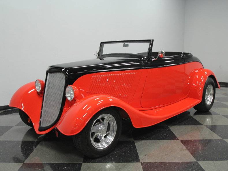 For Sale: 1934 Ford Roadster