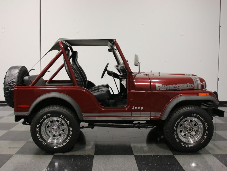 Jeep Renegade With Lift >> 1980 Jeep CJ5 | Streetside Classics - The Nation's Trusted Classic Car Consignment Dealer
