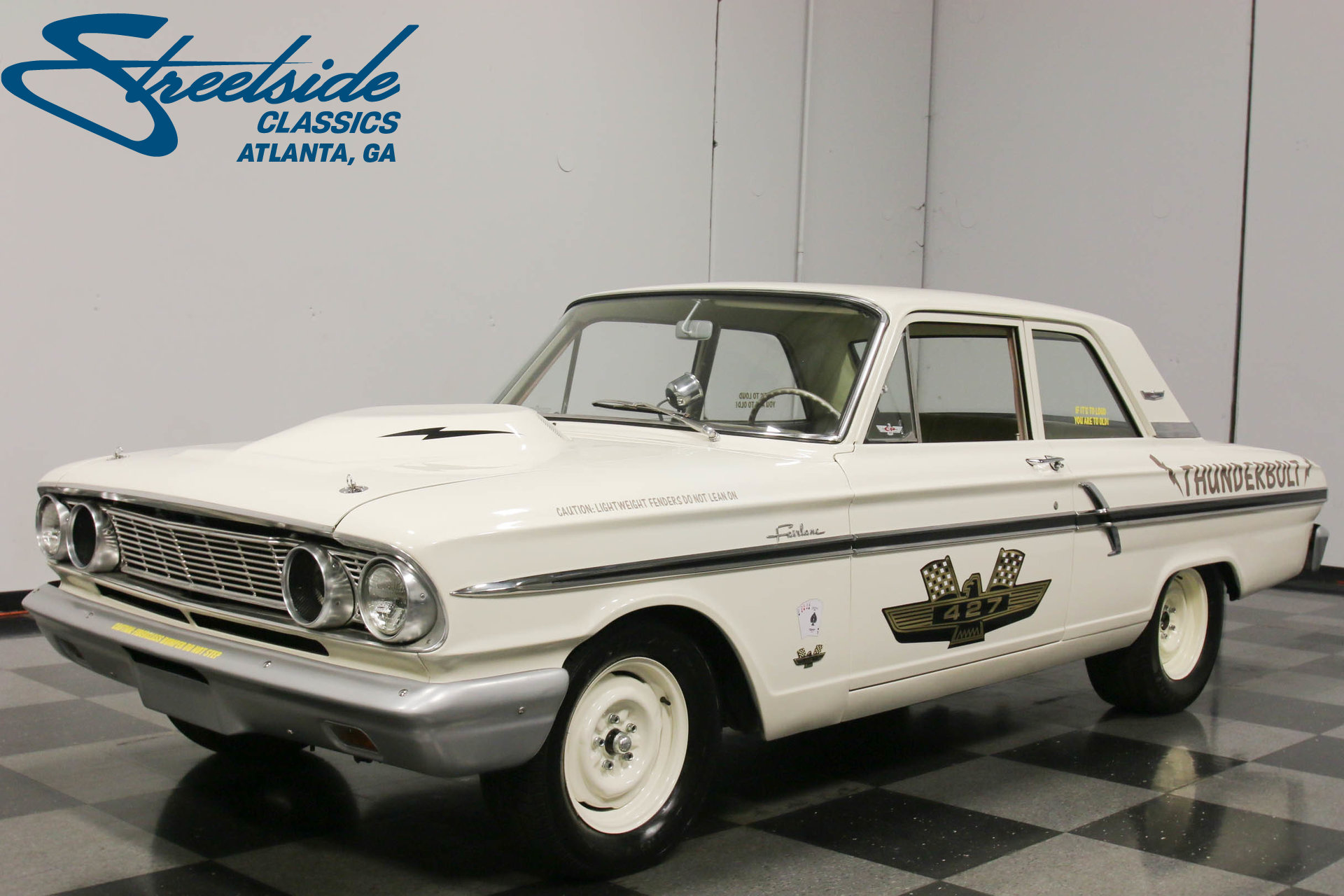 For Sale: 1964 Ford Fairlane. Spincar view. Play Video