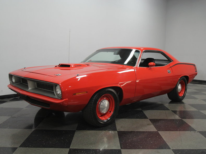 For Sale: 1972 Plymouth Cuda
