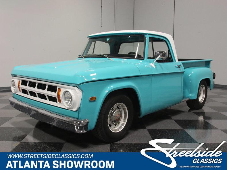 For Sale: 1971 Dodge D100