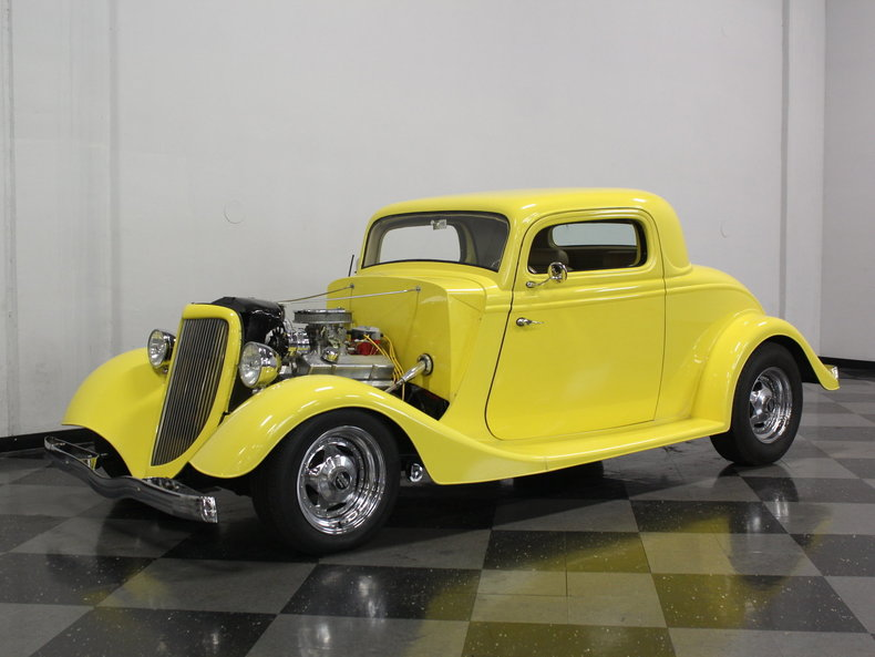 For Sale: 1934 Ford 3 Window Coupe