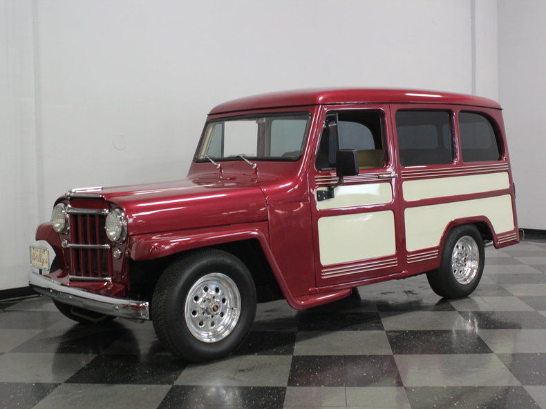 For Sale: 1957 Willys Wagon