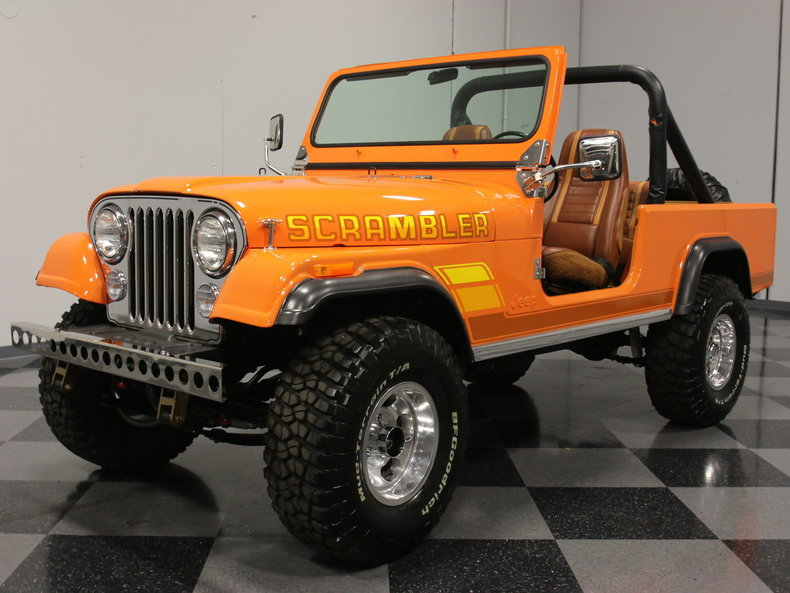 For Sale: 1981 Jeep CJ8