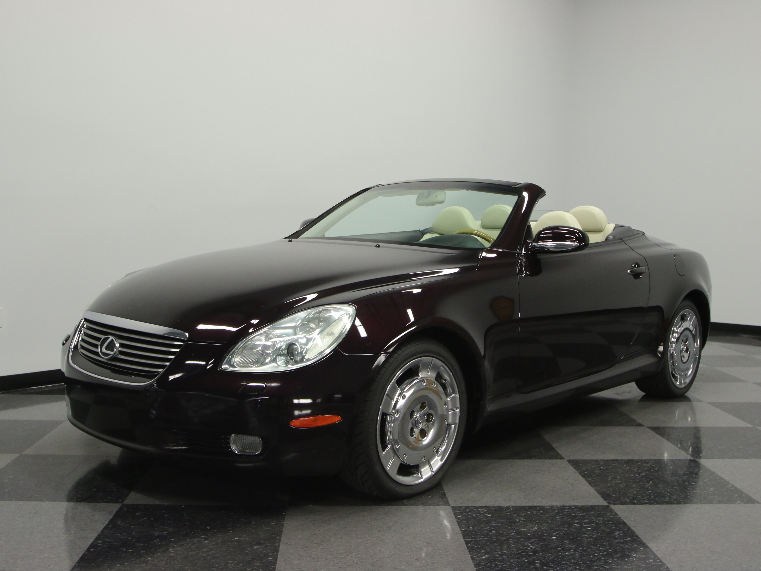 2002 lexus sc430 for sale 45828 mcg. Black Bedroom Furniture Sets. Home Design Ideas