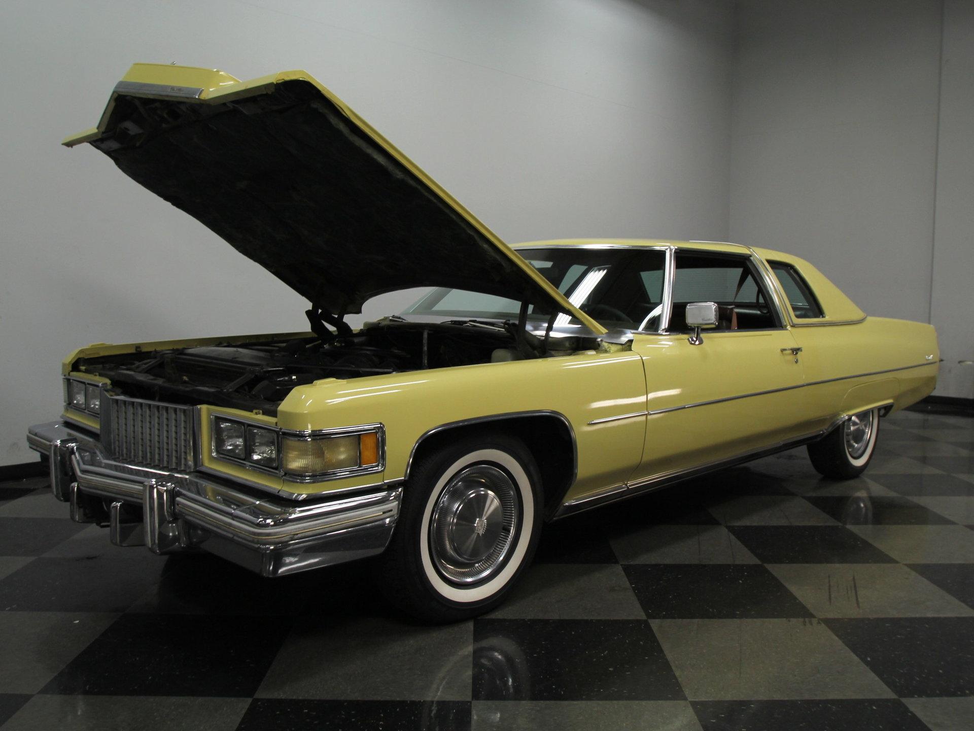 Dallas Auto Sales >> 1975 Cadillac Coupe DeVille | Streetside Classics - The ...
