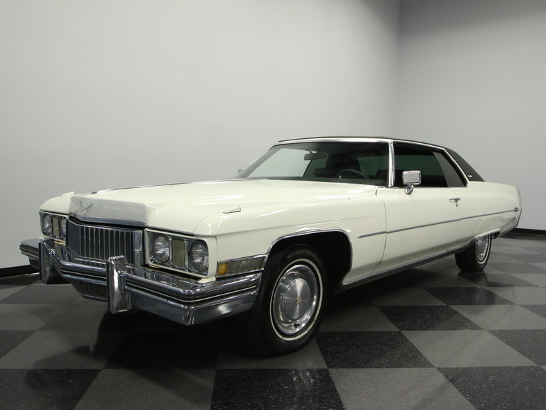 For Sale: 1973 Cadillac Coupe DeVille