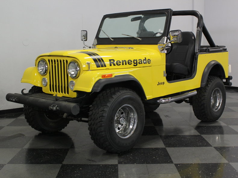 For Sale: 1981 Jeep CJ7
