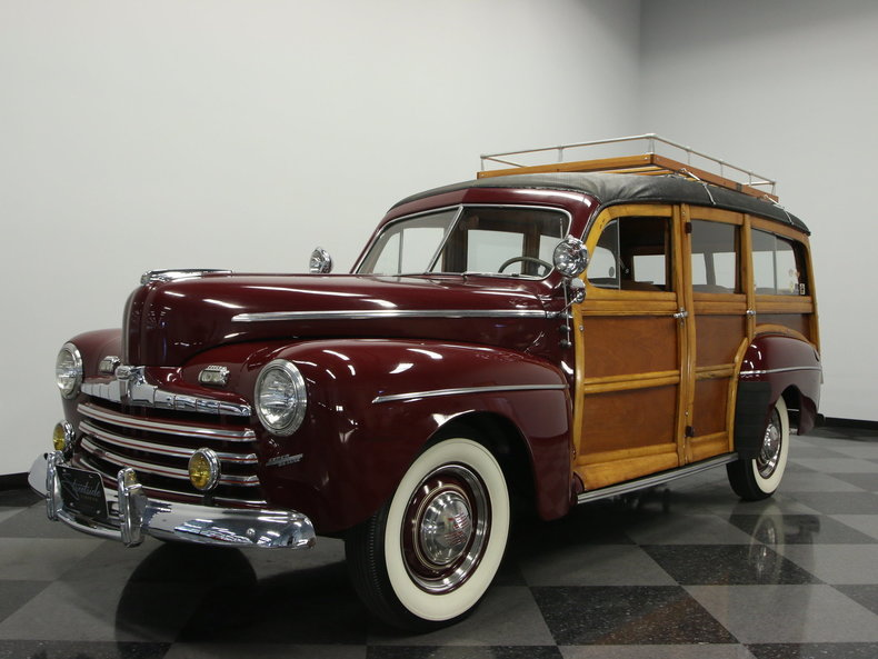 For Sale: 1947 Ford Super Deluxe