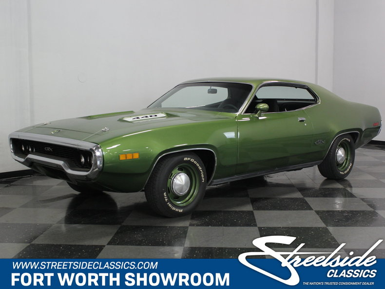 For Sale: 1971 Plymouth GTX