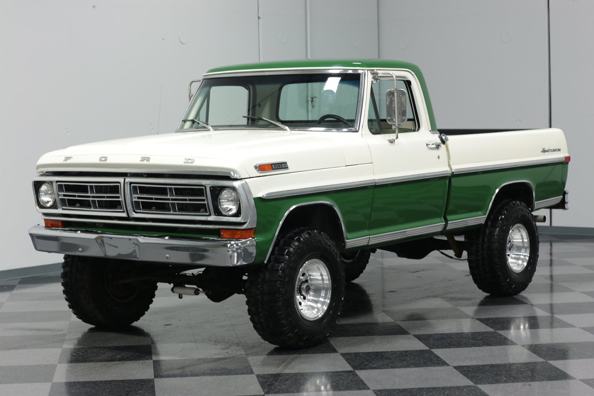 1972 Ford F 100 Streetside Classics The Nations Trusted Classic 1955 F100 White 4x4 View 360
