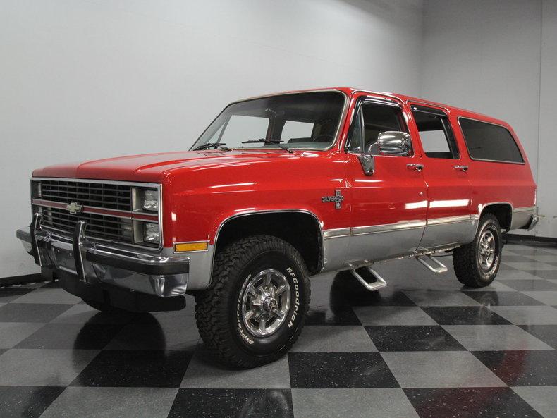 For Sale: 1984 Chevrolet Suburban