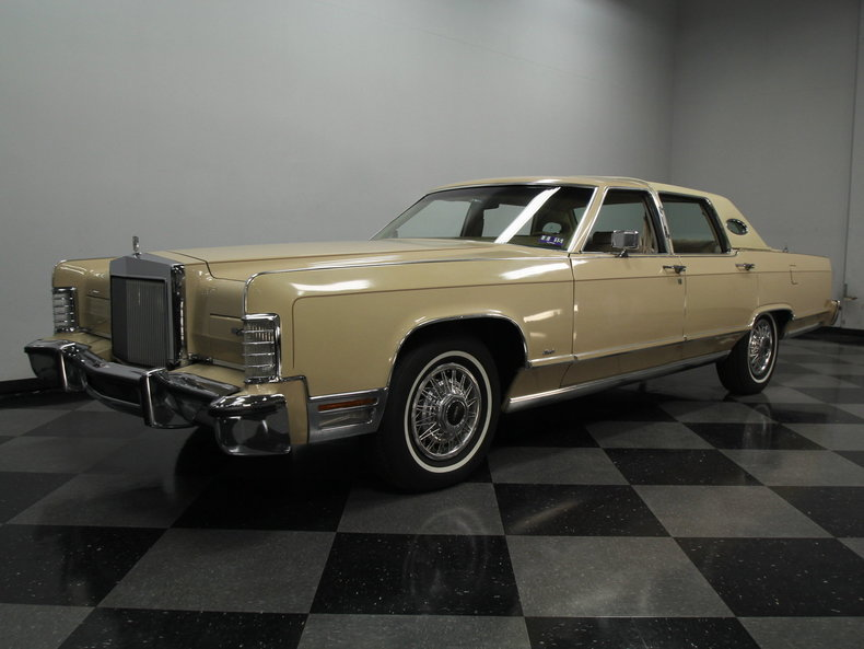 For Sale: 1978 Lincoln Town Car