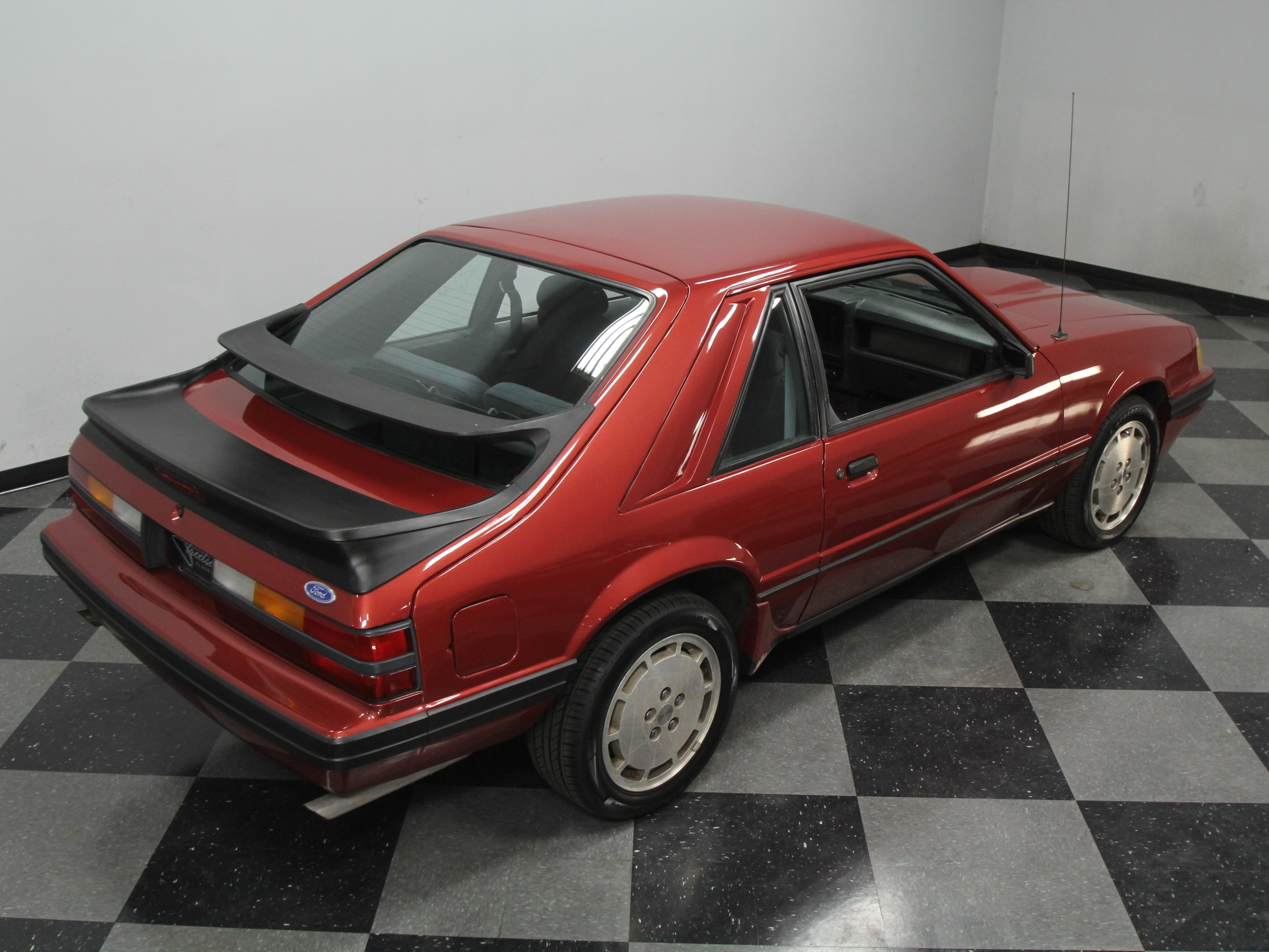 3343-CHA | 1986 Ford Mustang SVO | Streetside Classics