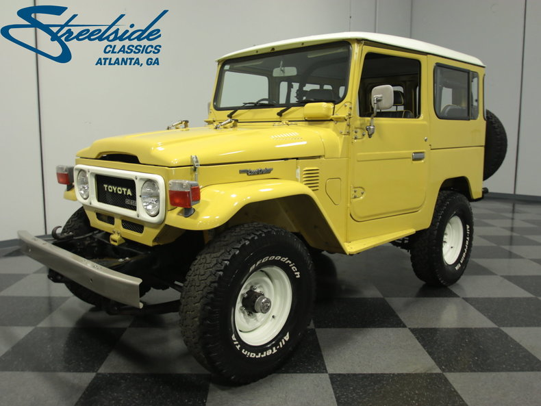 For Sale: 1979 Toyota BJ41 Land Cruiser