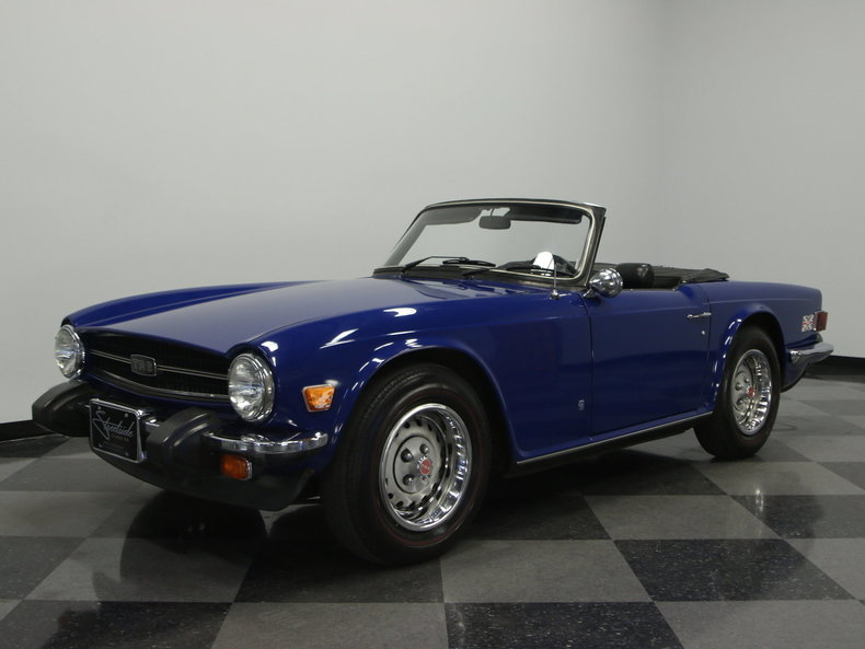 For Sale: 1976 Triumph TR6