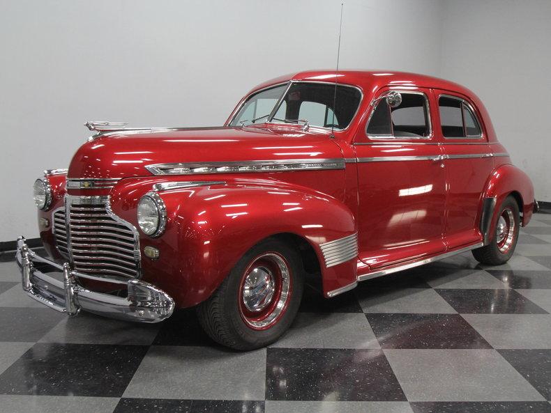 For Sale: 1941 Chevrolet Fleetline