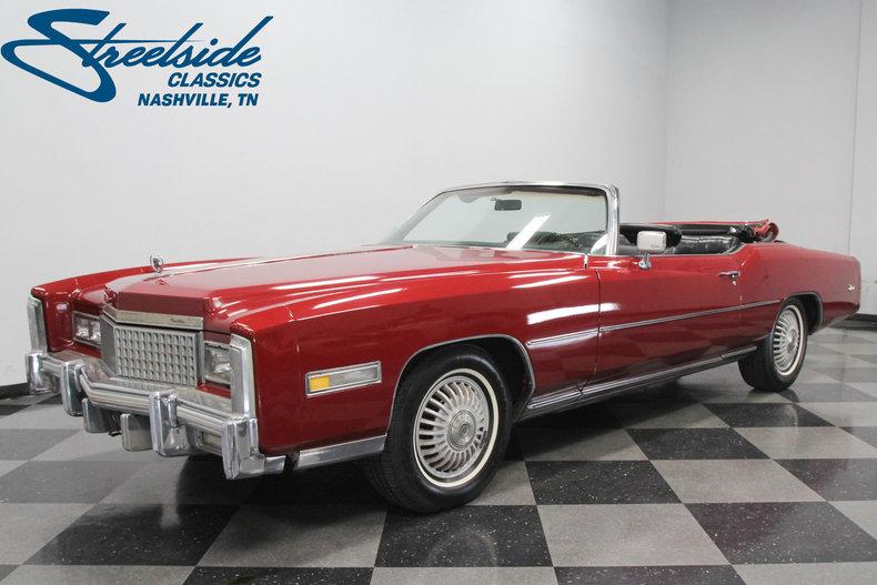 For Sale: 1975 Cadillac Eldorado