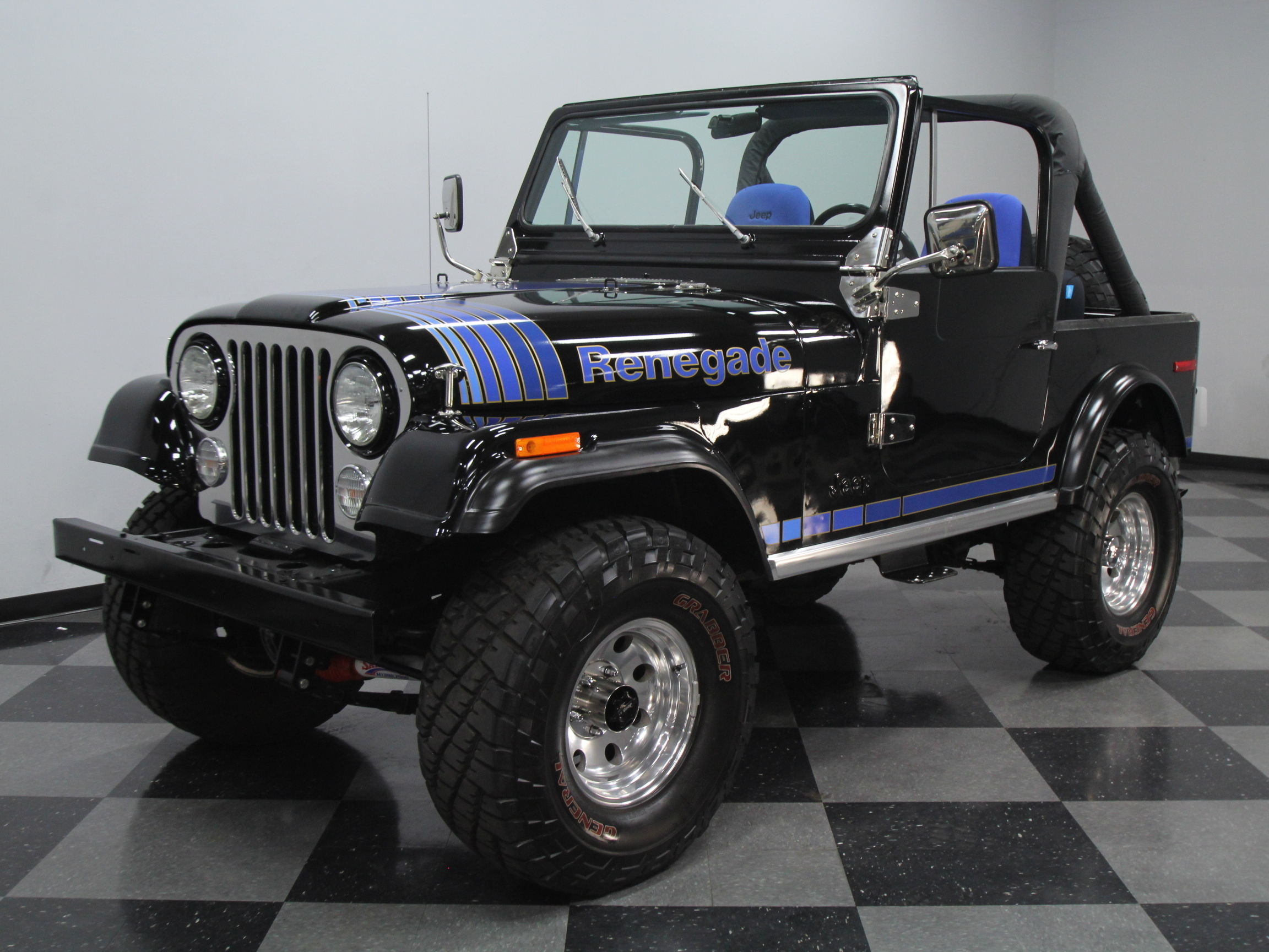 1980 Jeep Cj7 Renegade For Sale  46227
