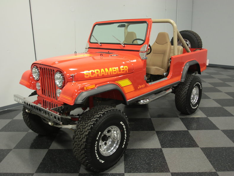 For Sale: 1982 Jeep CJ8