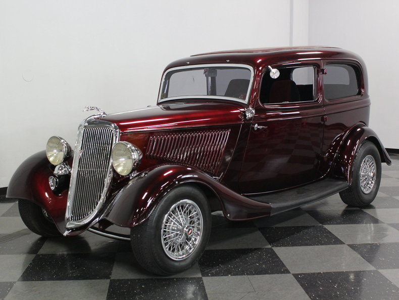 For Sale: 1934 Ford Tudor Sedan