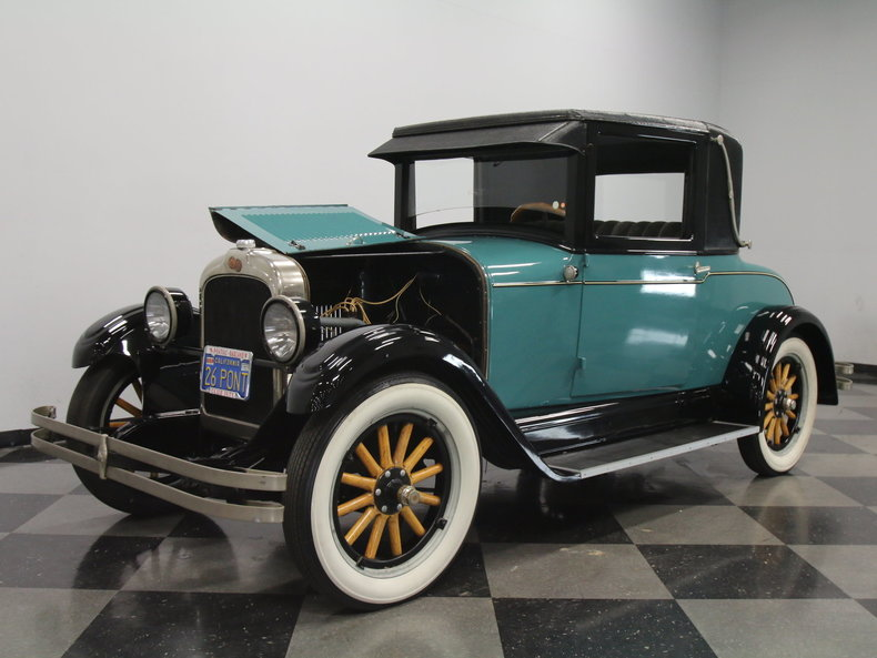 Ford Fort Worth >> 1926 Pontiac Coupe | Streetside Classics - The Nation's