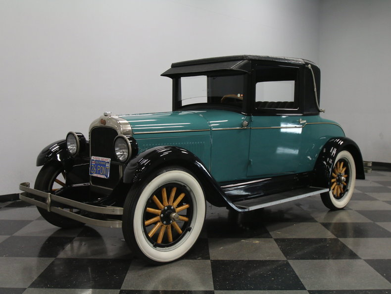 For Sale: 1926 Pontiac Coupe