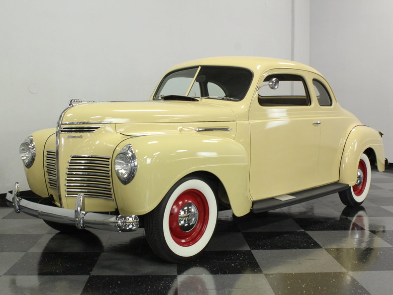 For Sale: 1940 Plymouth Business Coupe