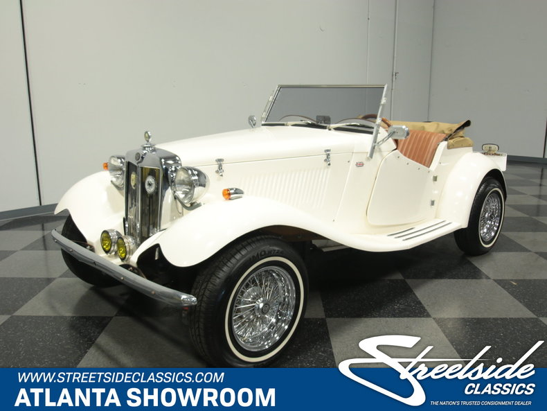 For Sale: 1952 MG TD Replica