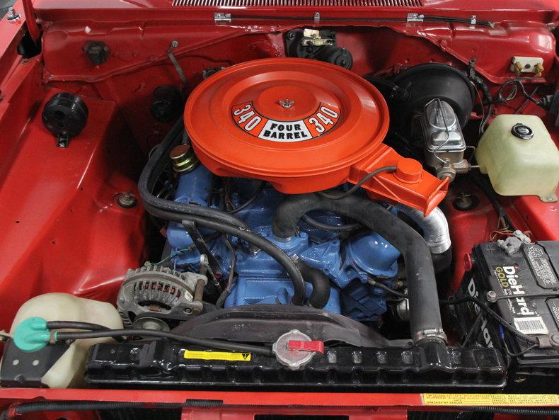 mopar engine diagrams 340 mopar engine car diagram 1973 plymouth 340 duster   streetside classics - the ...