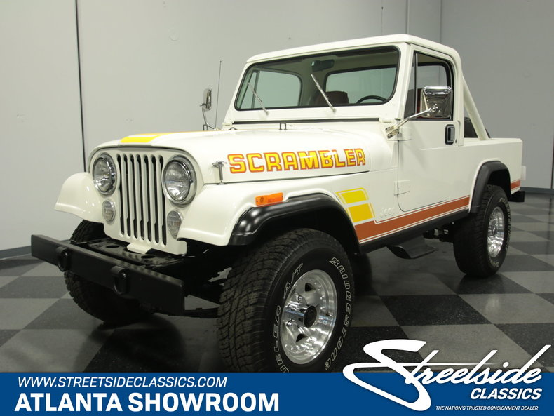 For Sale: 1984 Jeep CJ8