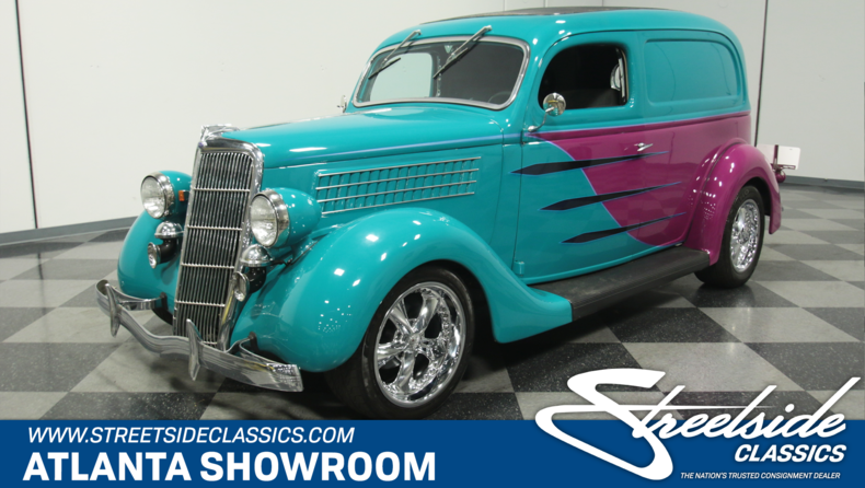 For Sale: 1935 Ford Sedan Delivery